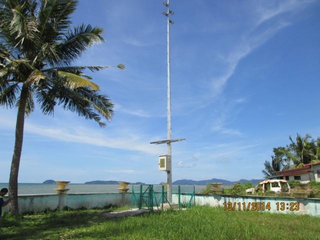 Sistema de aviso de tsunamis mediante sirenas para el gobierno de Malasia
