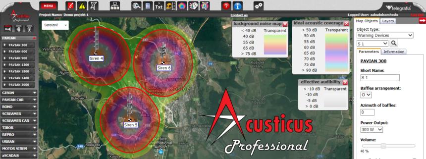 Cómo hacer una estimación y establecer niveles de ruido en Acusticus