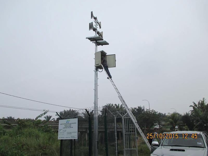 Caso de éxito – 14 sirenas de Telegrafia en 6 sistemas de alerta temprana para presas en Malasia
