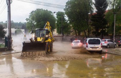 Reportaje fotográfico especial: Vea una violenta tormenta causante de inundaciones repentinas
