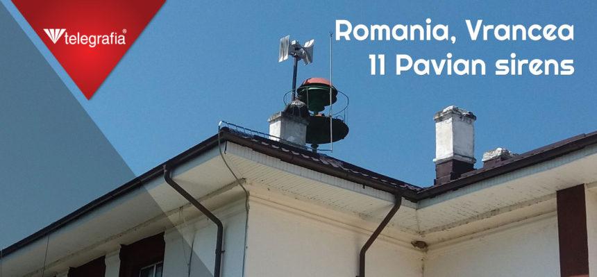 Sistema de alerta temprana de Vrancea, Rumanía