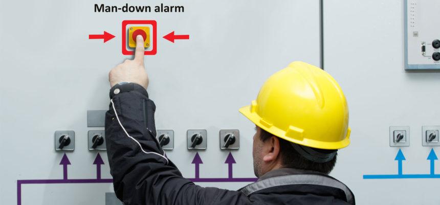 Sistema de alarma de hombre caído