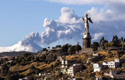 ¿Cómo alertar a la población local en caso de erupción volcánica?  Parte 1/2: Peligro de una erupción volcánica en Ecuador