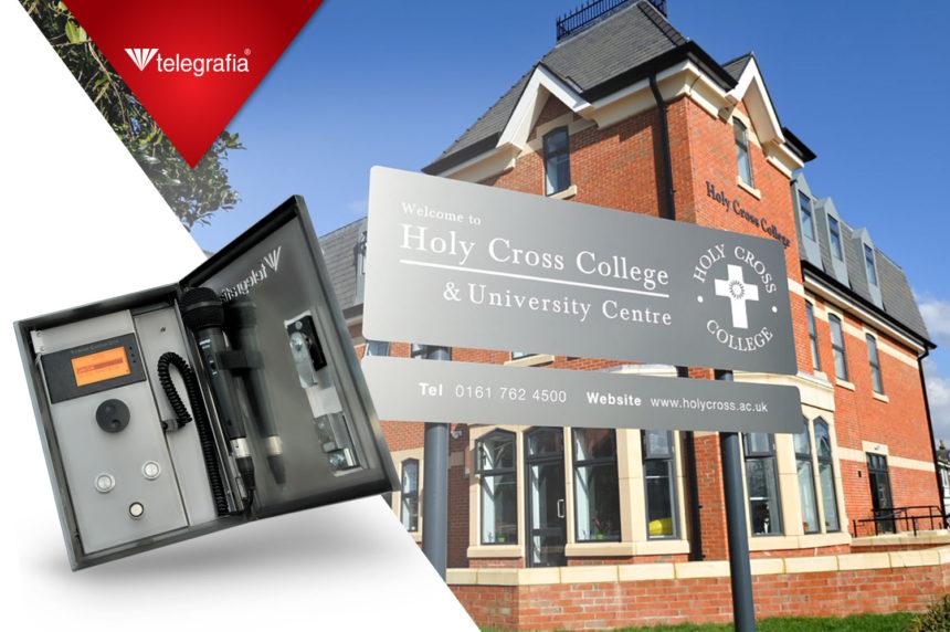 Una sirena Bono para el Instituto católico Holy Cross College y Centro universitario