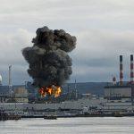 Explosión en la refinería Irving Oil de Canadá
