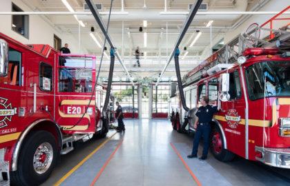 Telegrafia proporciona asistencia en la renovación de parques de bomberos