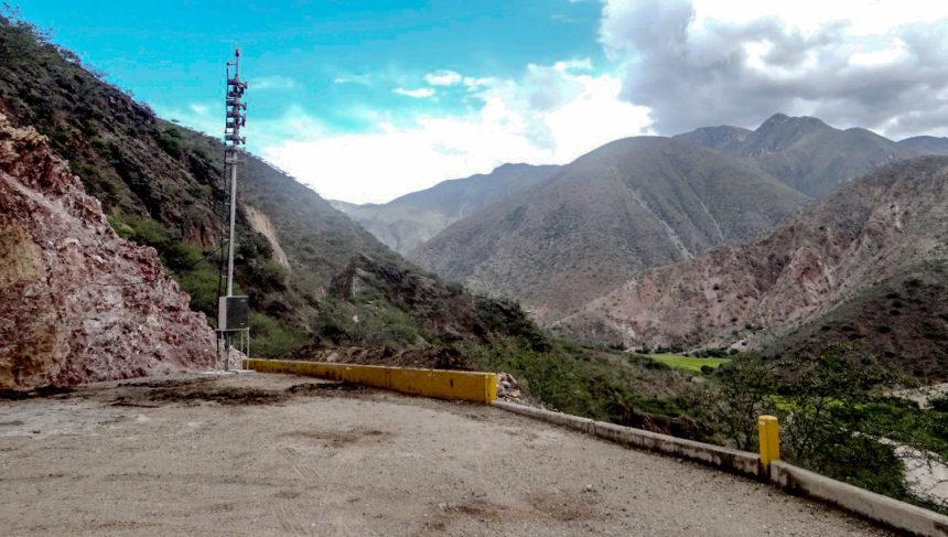 Sistema de alerta temprana para un megaproyecto de irrigación en Perú