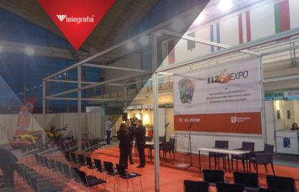 """Nuestro colaborador Open it presenta la sirena Bono en la feria """"112 Expo"""" de Serbia"""