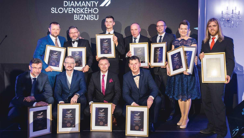 Telegrafia: Diamante de los negocios en Eslovaquia 2019