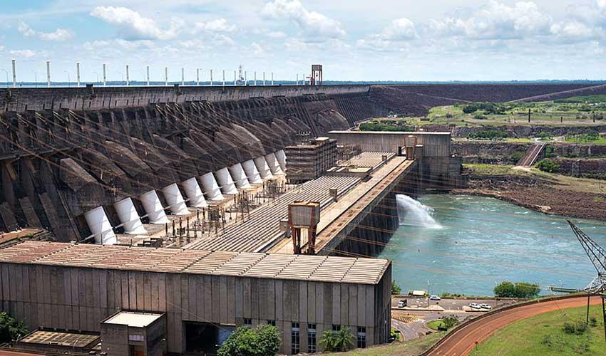Las plantas hidroeléctricas