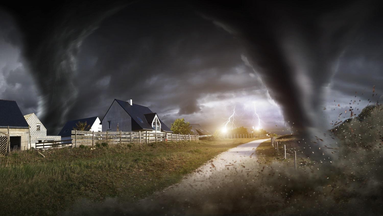Tormentas y tornados: Formación, daños y medidas de protección