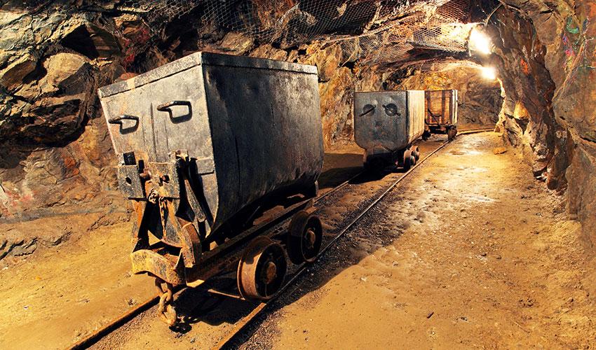 Sistema de seguridad de la industria minera