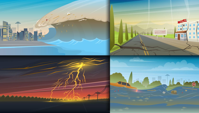¿Cómo se protege el mundo de los desastres naturales?