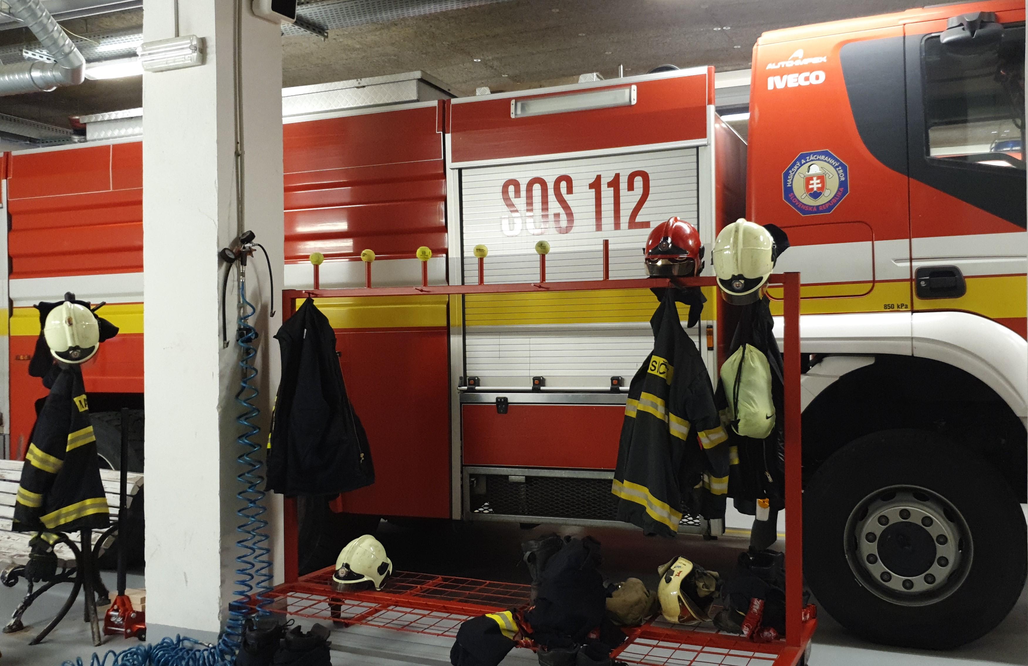 estación de bomberos de automatización