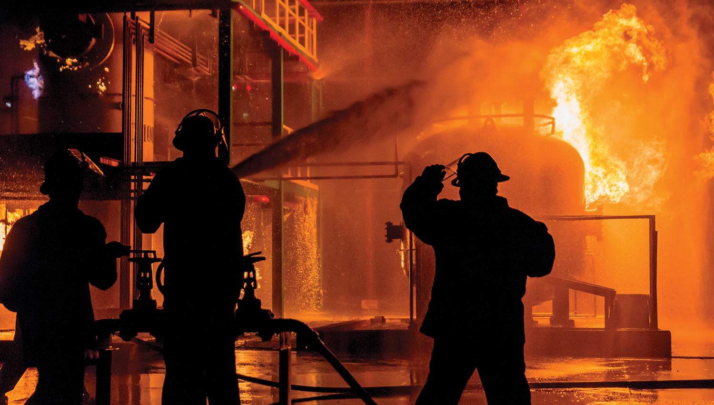 Reducir los riesgos de incendios industriales